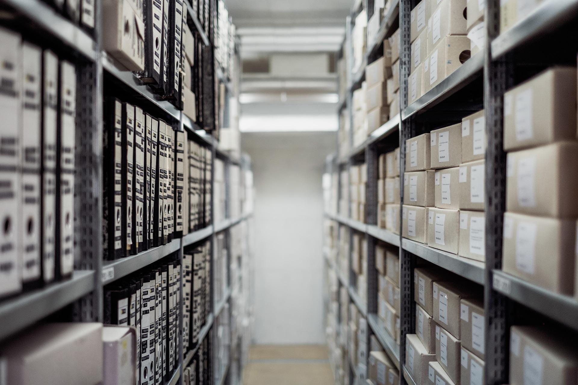 számlák, dokumentumok archiválása, megőrzése